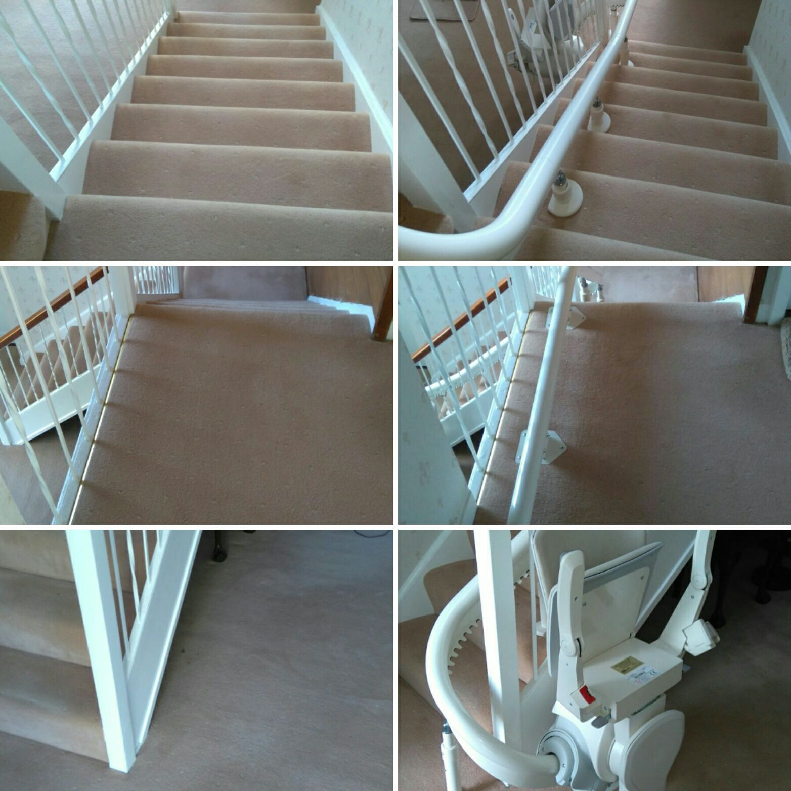 curved stair case lift
