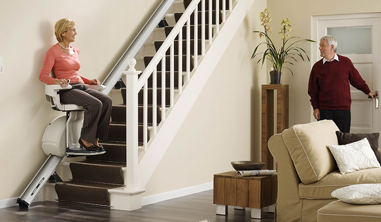 Stairlifts for Straight Stairs img