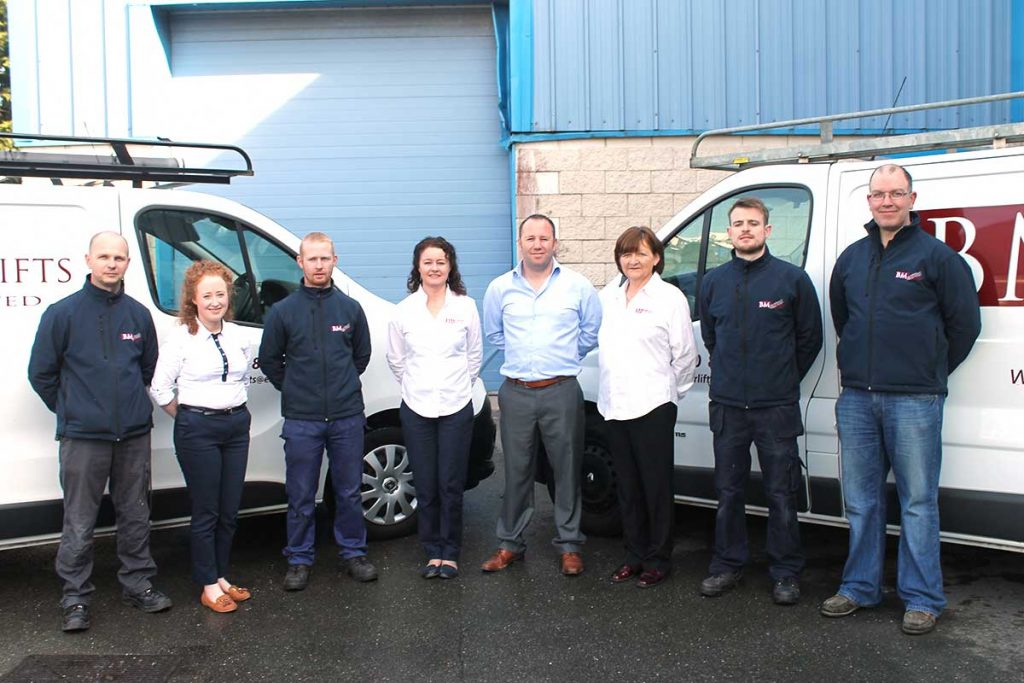 The team at BM Stairlifts
