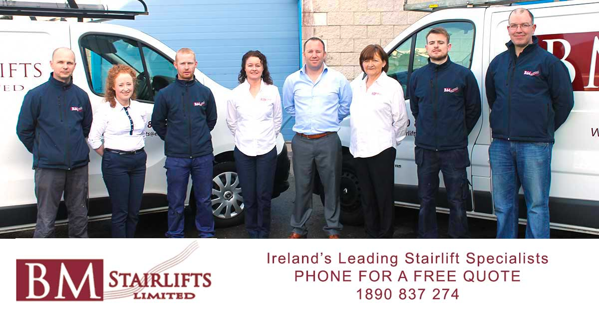BM Stairlifts Ireland team